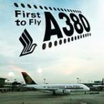 Primer vuelo comercial del gigante Airbus A380