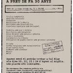 El menú de la peseta