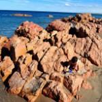 Playa de Las Grutas en Argentina