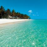 Diversión en el mar azul de Varadero, Cuba