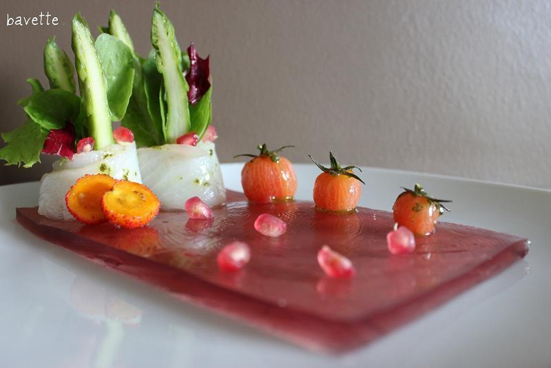 Receta gelatina granadina bacalao