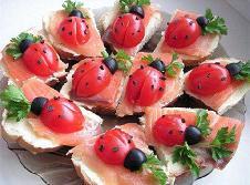 Receta de mariquitas con salmon