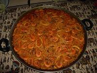 Receta de Paella Marinera