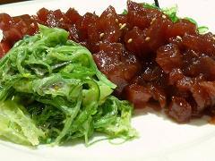 Receta de sashimi de atun
