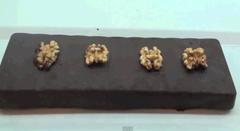 Receta de Chocolate con Nueces