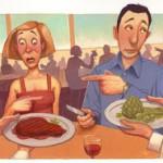 Dieta vegetariana versus dieta carnívora