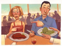 vegetarianos contra carnivoros