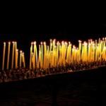 Increíble peregrinación con velas en Gubbio